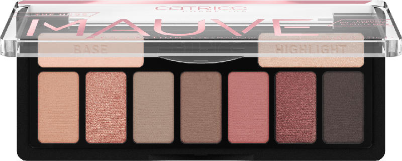 Catrice Lidschattenpalette The Nude Mauve Collection Eyeshadow Palette Glorious Rose 010