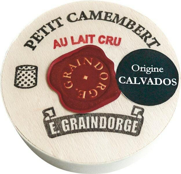 Petit Camembert E. Graindorge au lait cru Calvados