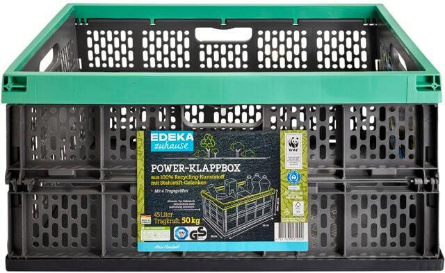 EDEKA zuhause Power-Klappbox 45 L
