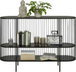 mömax Wels - Ihr Trendmöbelhaus in Wels Konsole aus Eisen in Schwarz