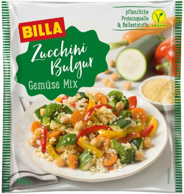 BILLA Zucchini Bulgur Gemüse Mix