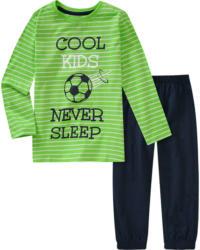 Jungen Schlafanzug mit Fußball-Motiv (Nur online)