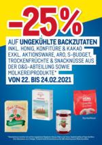 -25% auf ungekühlte Backzutaten