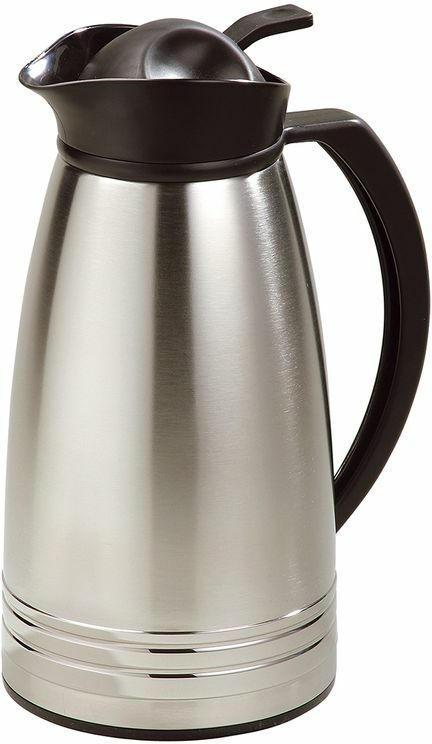 Thermoskanne 1 Liter silber
