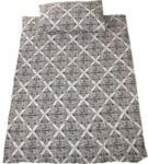 Landi Bettwäsche Satin s/w 200 × 210 cm