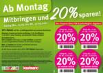 Feneberg Feneberg: Mitbringen und 20% sparen! - bis 17.03.2021