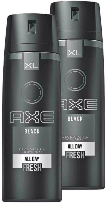 Axe Deo Aero Black 2 x 200 ml -