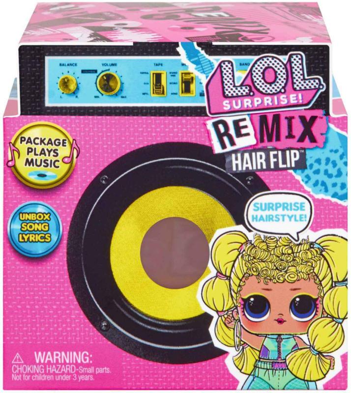L.O.L. Surprise! REMIX Hair Flip -