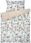 OTTO'S Parure de lit Micro blanche avec branches fleuries -  (Prix de la plus petite taille)