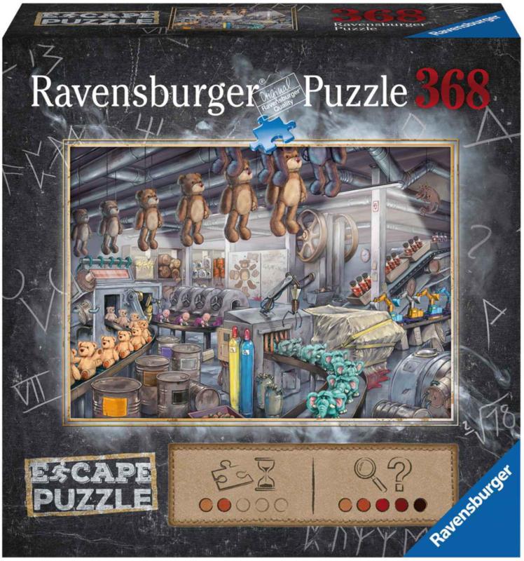 Ravensburger EXIT Puzzle Nella Fabbrica di Giocattoli 368 pezzi -