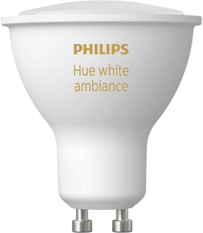 PHILIPS Leuchtmittel GU10 Hue White Ambince 50 W -