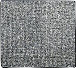 """Vorleger """"Fresh"""", 55x50 cm, Fresh schwarz, Polyester"""