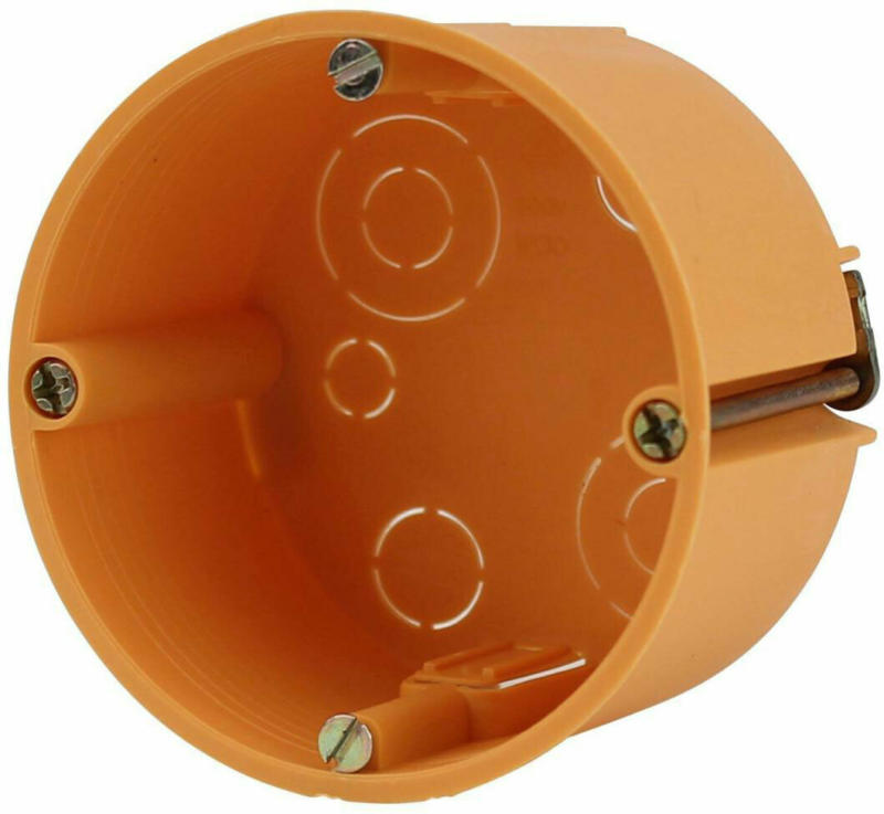 Hohlwand-Schalterdose 10 stk., orange
