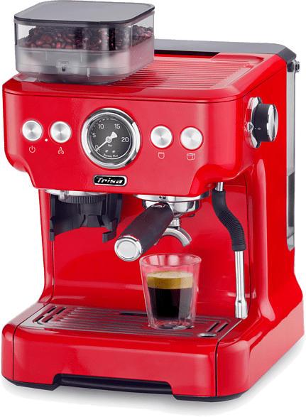 Espressomaschine Barista Plus Rot