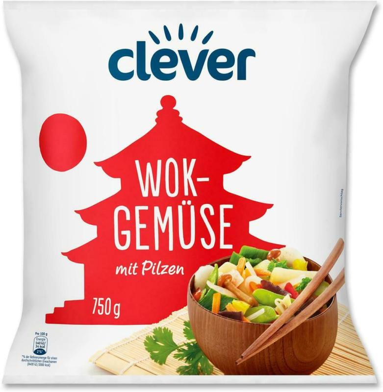 Clever Wok Gemüse