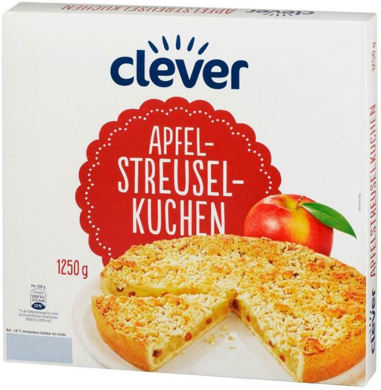 Clever Apfel-Streusel-Kuchen