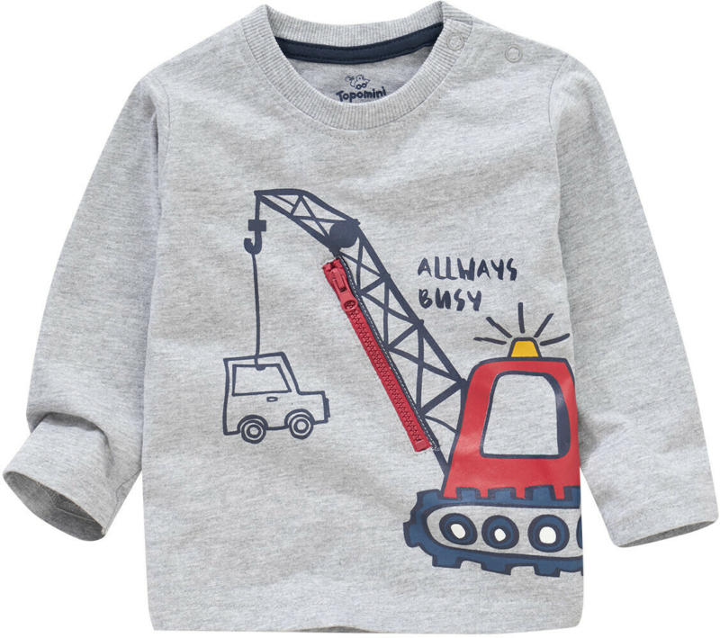 Baby Langarmshirt mit großem Print (Nur online)