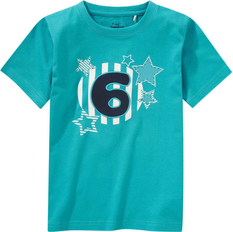 Jungen T-Shirt mit Geburtstagszahl (Nur online)