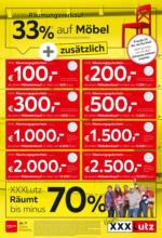 XXXLutz - Räumungsverkauf