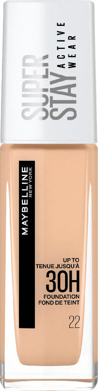 Maybelline New York Make-up Super Stay Active Wear Foundation 22 Light Bisque