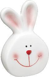 Dekorieren & Einrichten Keramikhase weiß/rosa