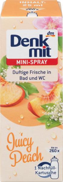 Denkmit Lufterfrischer Minispray Juicy Peach