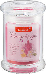 Profissimo Duftkerze Glasdeckel rosa/pink