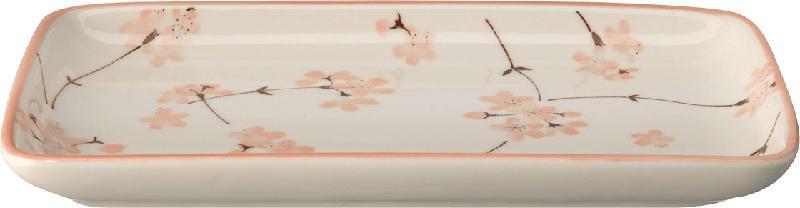 Dekorieren & Einrichten Keramikteller Kirschblüte