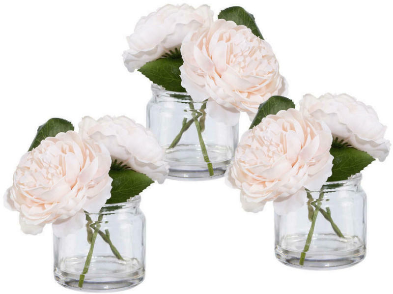 Blume im Glas, 3er Set