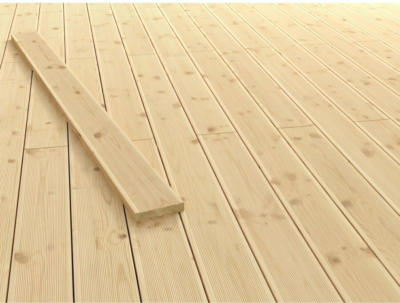 Terrassendiele Douglasie 200 cm x 14,5 cm x 2,8 cm