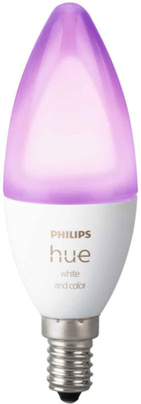 PHILIPS Hue White & Color Ambiance E14 2er Pack -