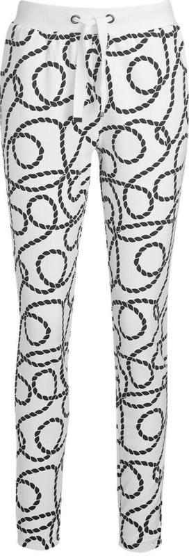 Damen Jogginghose mit Schnüren-Print