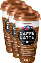 Caffè Latte Emmi, Cappuccino, 3 x 230 ml