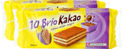 Brio Cacao Gusparo, 2 x 10 pezzi