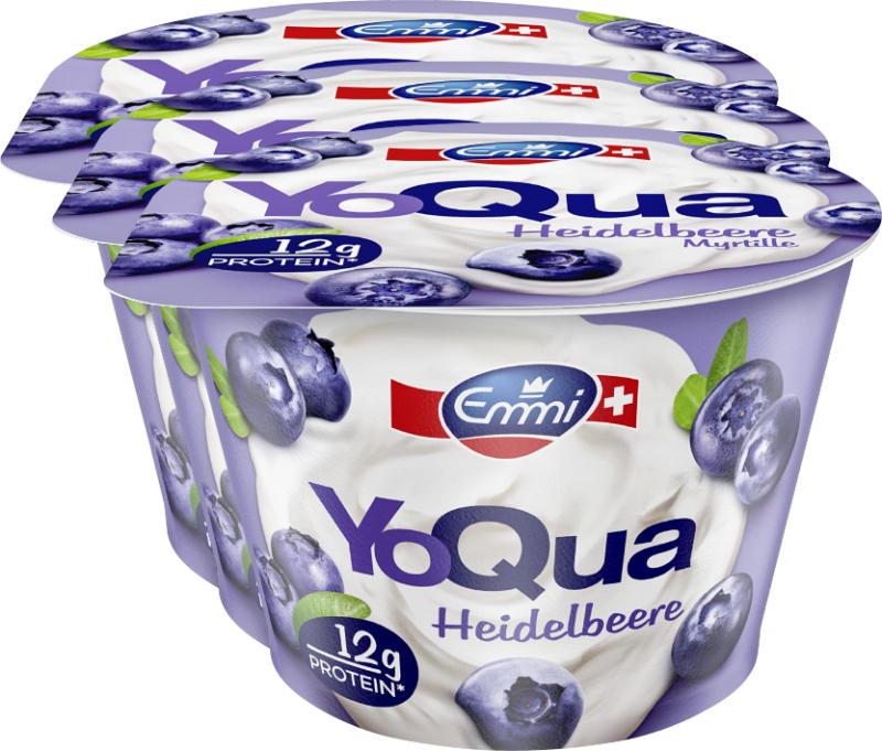 YoQua Emmi, Myrtille, 3 x 150 g