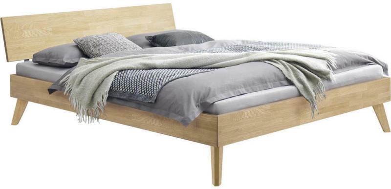 Bett 180/200 cm in Eichefarben