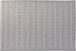 Möbelix Teppich Braun/Weiß 120x180 cm
