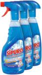 OTTO'S Sipuro Glas + Multiflächen Reinigungsspray 1 Original + 2 Nachfüller je 500 ml -