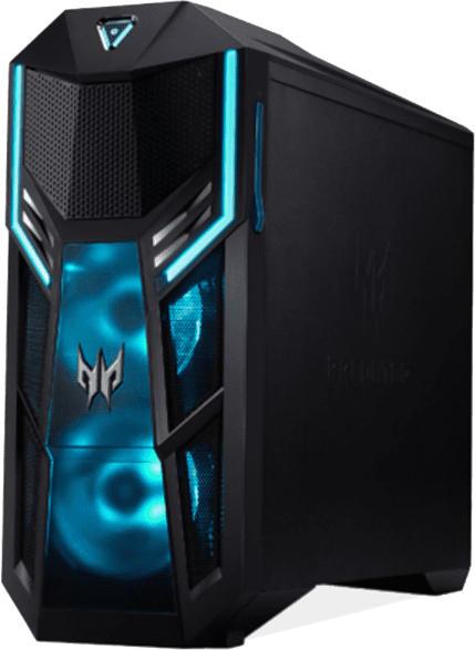 Gaming PC Predator Orion 5000 PO5-615s, i7-10700K, 32GB RAM, 512GB + 1024GB SSD, RTX 3070, Schwarz