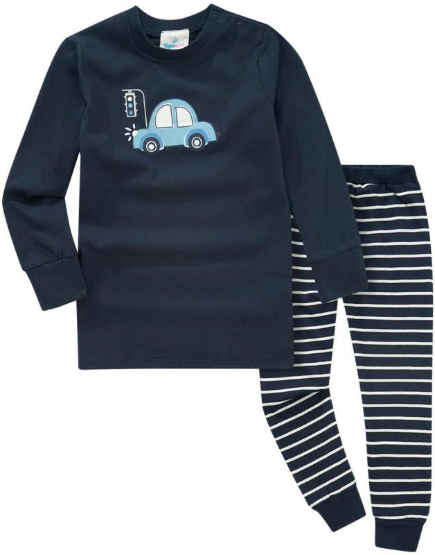 Baby Schlafanzug mit Auto-Motiv