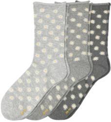 3 Paar Damen Socken in verschiedenen Dessins (Nur online)