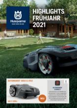 Husqvarna - Highlights Frühjahr 2021