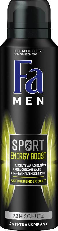 Fa MEN Deospray Sport Energy Boost