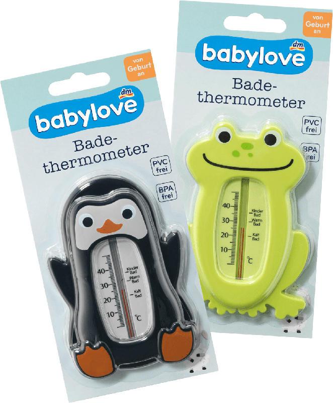 babylove Badethermometer