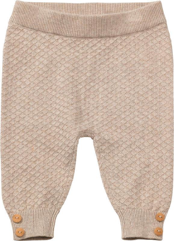 ALANA Baby Hose, Gr. 74, in Bio-Baumwolle, beige
