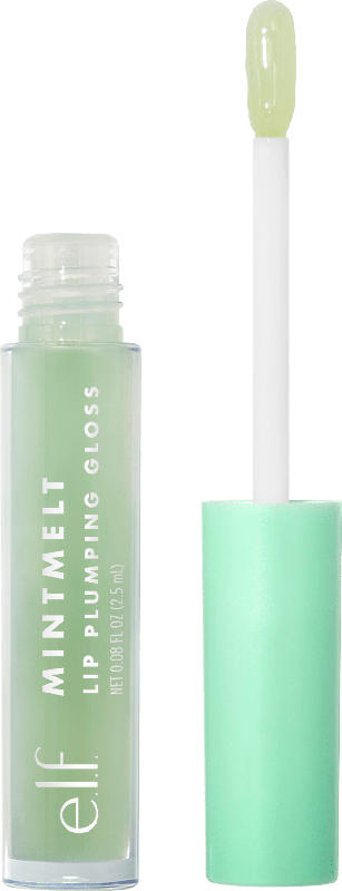 e.l.f. Cosmetics Lipgloss Mint Melt Plumping Gloss Clear