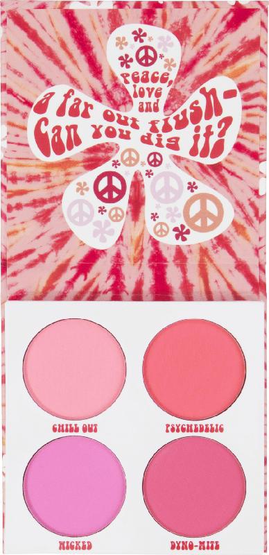 BH Cosmetics Rouge Palette Flower Power - 4 Farben