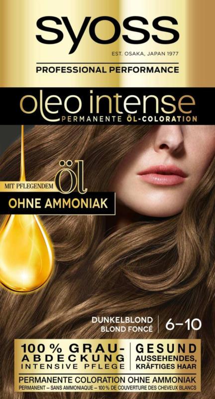 Syoss Oleo Intense Haarfarbe Dunkelblond 6-10, 1 St