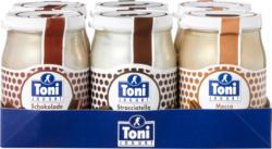 Yogurt Toni , assortiti: Cioccolato, Stracciatella, Moca, 6 x 180 g