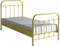 Kinder-/Juniorbett New York 90x200 cm Gelb